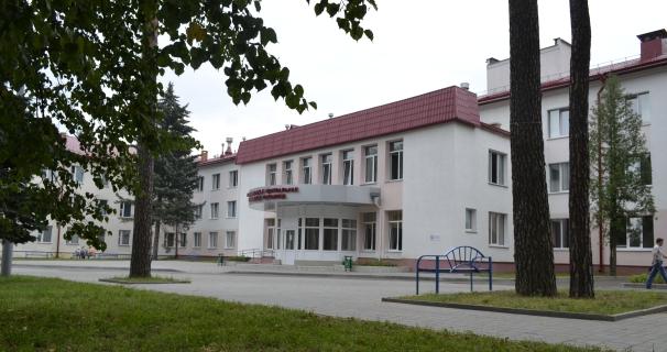Главный корпус городской больницы