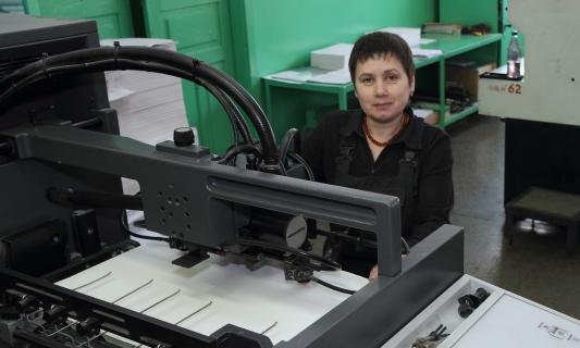 Печатник офсетной печати Галина Букурова