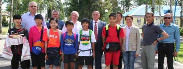 В Новополоцк прибыли юные биатлонисты из Японии, фото-1