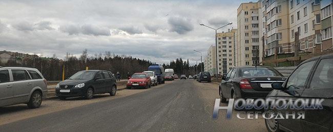 В какой «карман» заехать, чтобы по Еронько проехать. Проблемы парковки в 10-ом микрорайоне Новополоцка (фото) - фото 2