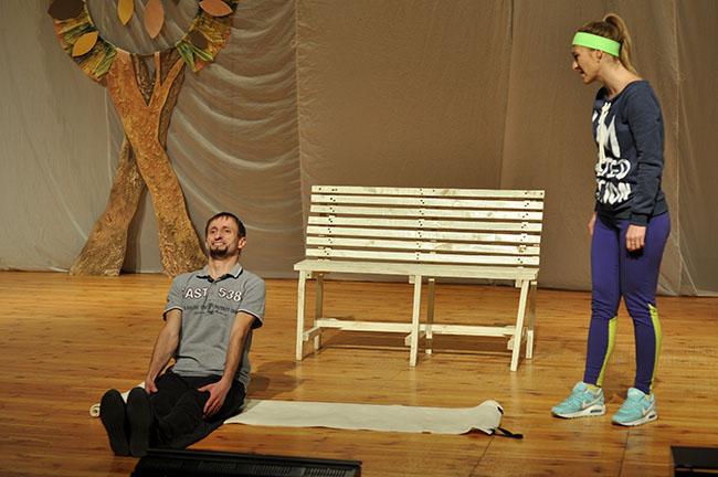 «Бег на месте с любовью». Студенческий театр «АРТ» представил новый спектакль на сцене ПГУ, фото-1