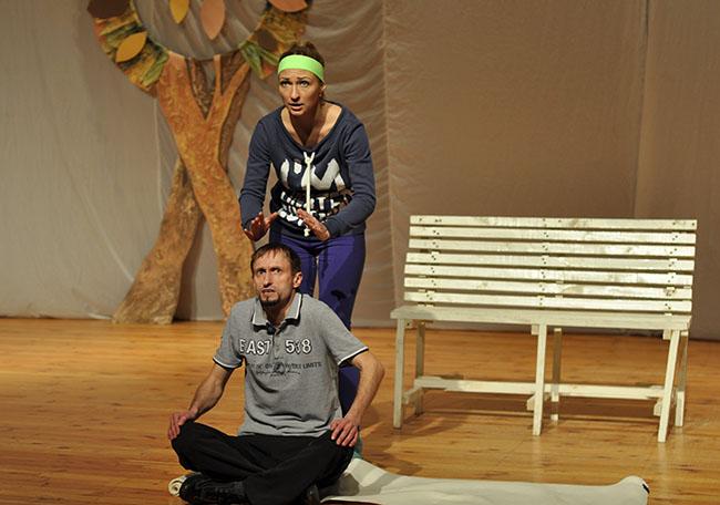 «Бег на месте с любовью». Студенческий театр «АРТ» представил новый спектакль на сцене ПГУ, фото-2
