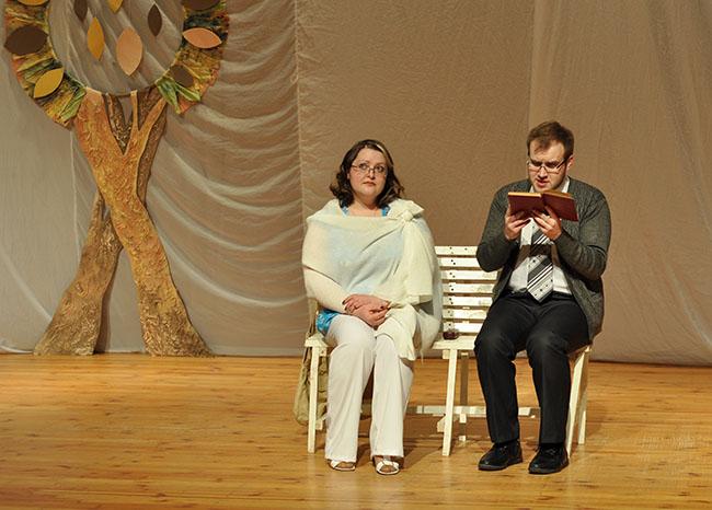 «Бег на месте с любовью». Студенческий театр «АРТ» представил новый спектакль на сцене ПГУ, фото-3