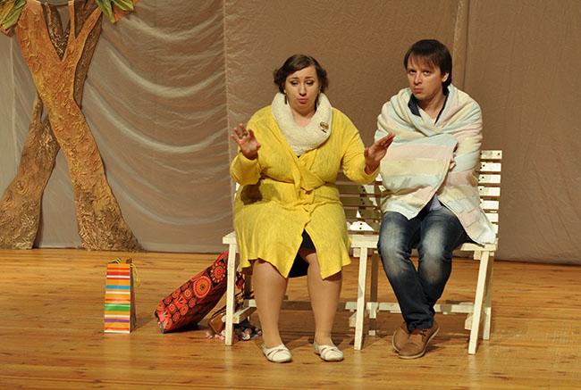 «Бег на месте с любовью». Студенческий театр «АРТ» представил новый спектакль на сцене ПГУ, фото-4