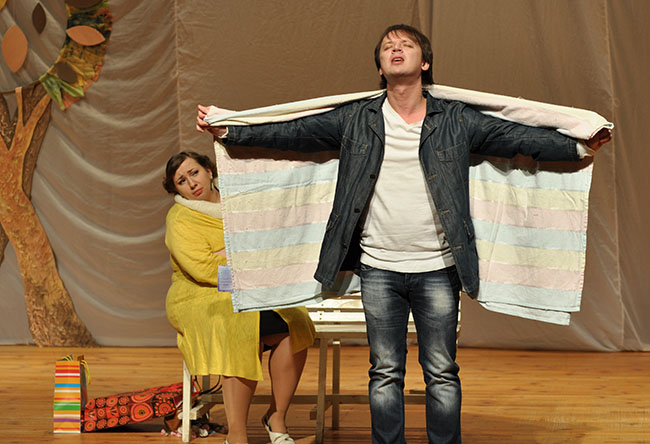 «Бег на месте с любовью». Студенческий театр «АРТ» представил новый спектакль на сцене ПГУ, фото-5