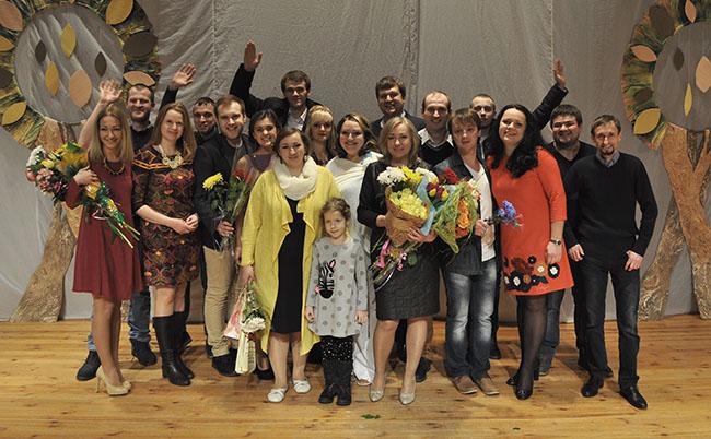 «Бег на месте с любовью». Студенческий театр «АРТ» представил новый спектакль на сцене ПГУ, фото-7
