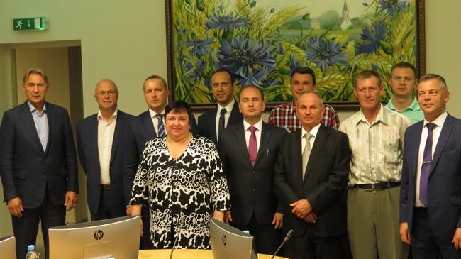 Делегация Новополоцка посетила Латвийский Смилтене