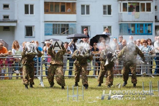 Как в Боровухе отпраздновали День ВДВ. Фоторепортаж, фото-7