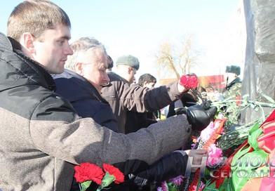 В Новополоцке почтили память погибших в Афганистане