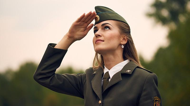 Юлия ВАЛЮШКО — в числе лучших военнослужащих!