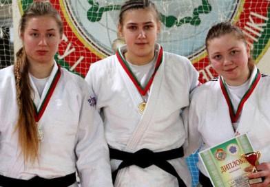 На первенстве Беларуси по дзюдо среди юниоров команда Витебской области завоевала серебро