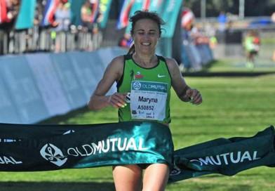 Новополочанка Марина Доманцевич выиграла ультрамарафон «Два океана» протяженностью 56 км