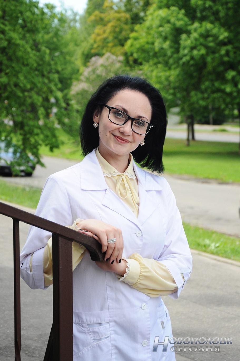 Новополочанка Алина Лацузбая