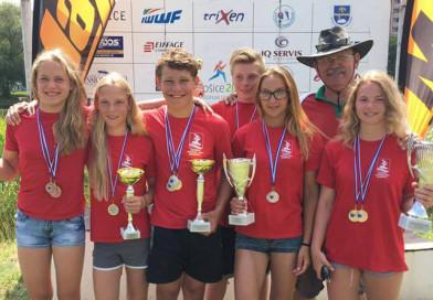 На втором этапе Youth cup 2017 по водным лыжам за электротягой новополочане в числе призеров