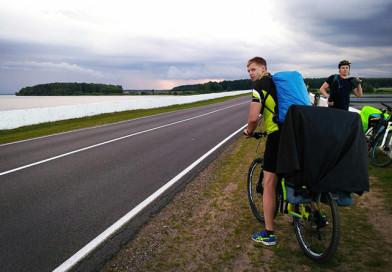 Разная и удивительная Беларусь: за три с половиной дня пятеро новополочан преодолели 350 км на велосипедах