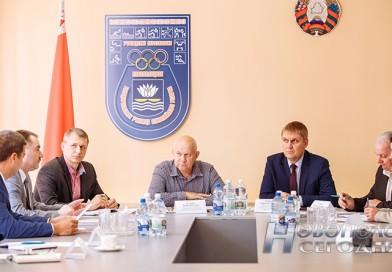 На базе Новополоцкого УОРа прошло очередное совещание, посвященное спецпроекту Белорусской федерации биатлона