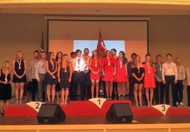 Новополочане в составе сборной Беларуси заняли 3-е место на чемпионате мира по водным лыжам в украинском Днепре