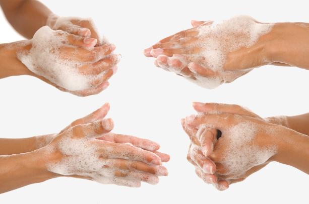 мыльные руки