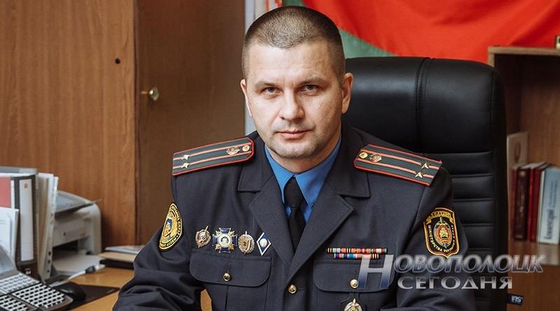 nachal'nik Novopolockogo otdela ohrany Aleksandr Ivchenko_