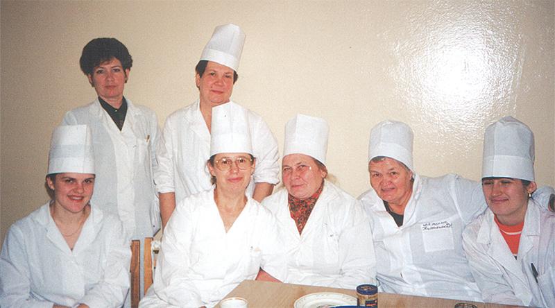 Кунцевич (в центре) с коллегами