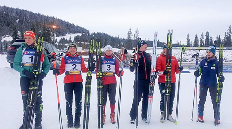 Ирина Кривко завоевала бронзу в спринтерской гонке в Норвегии