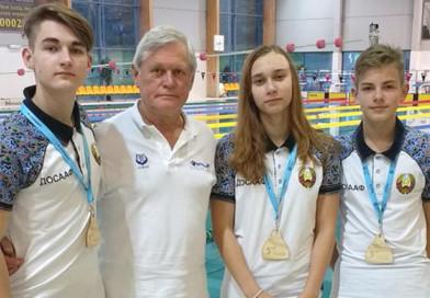 3 юных спортсмена из Новополоцка завоевали медали Кубка Европы по плаванию в ластах