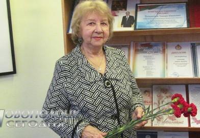Новополоцкая поэтесса, автор множества хитов мэтров белорусской эстрады Тамара Толкачёва о своем жизненном пути, творчестве и поэзии