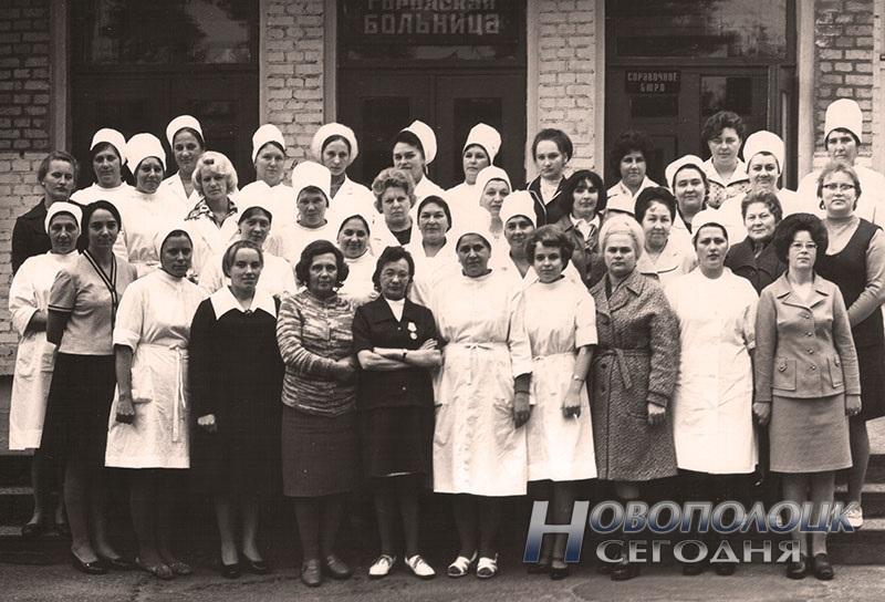 pervye medrabotniki Novopolocka, 1976 god