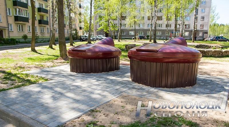 podzemnye kontejnery dlja musora v Novopolocke__