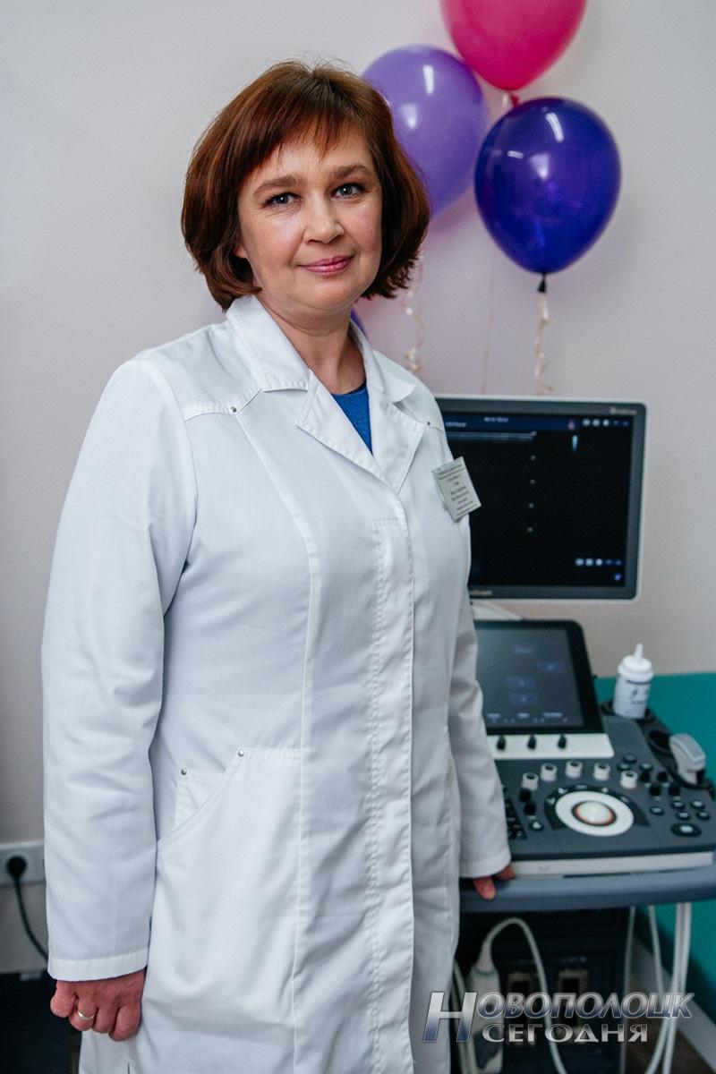 заведующая женской консультацией поликлиники №4 Инна Стома