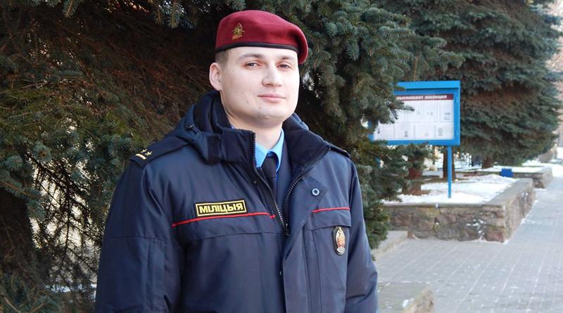 Андрей Зубок остановил пьяного дебошира