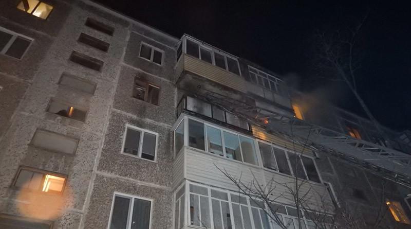 пожар на молодежной Новополоцк