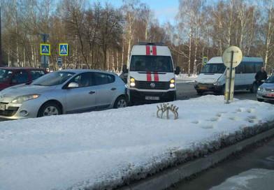 В Новополоцке маршрутка врезалась в легковушку, в которой находился ребенок
