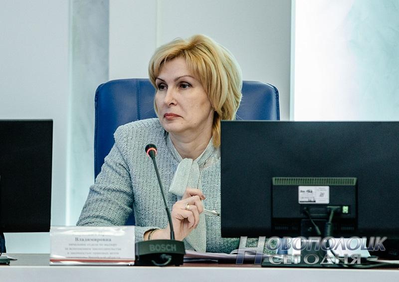 Начальник отдела по надзору за исполнением законодательства изаконностью правовых актов прокуратуры Витебской области Ирина Янукович