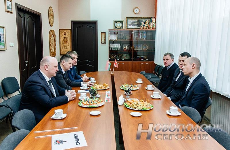 Обсуждение перспектив дальнейшего сотрудничества спартнерами из Дании продолжилось вНовополоцком горисполкоме