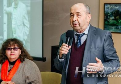 Белорусский поэт, писатель, журналист, Почетный гражданин Полоцка и Новополоцка Наум Гальперович представил новый сборник стихов «Час лістападу»