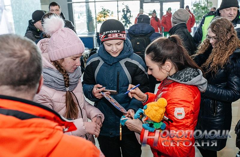 Vstrecha olimpijskih chempionok po biatlonu v Nacional'nom ajeroportu (15)