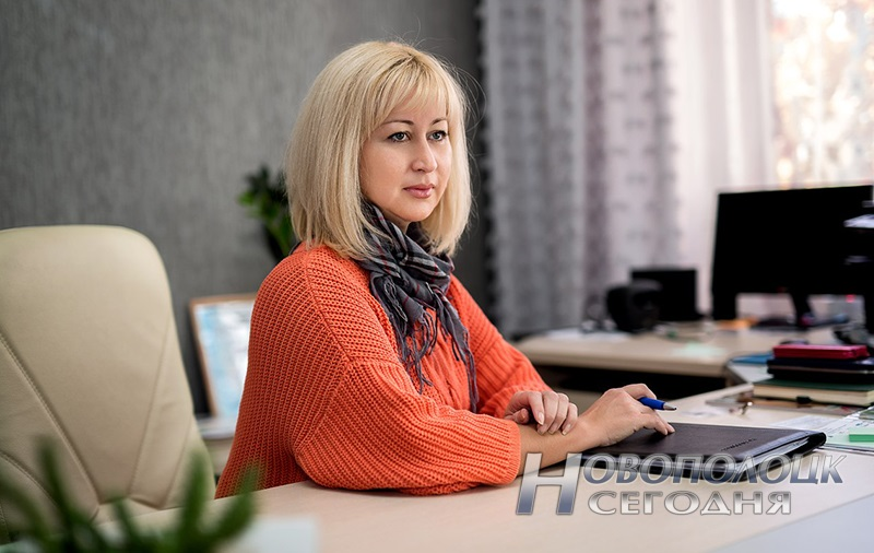 diretor Gimanzii №1 Novopolocka Natal'ja Aldanova