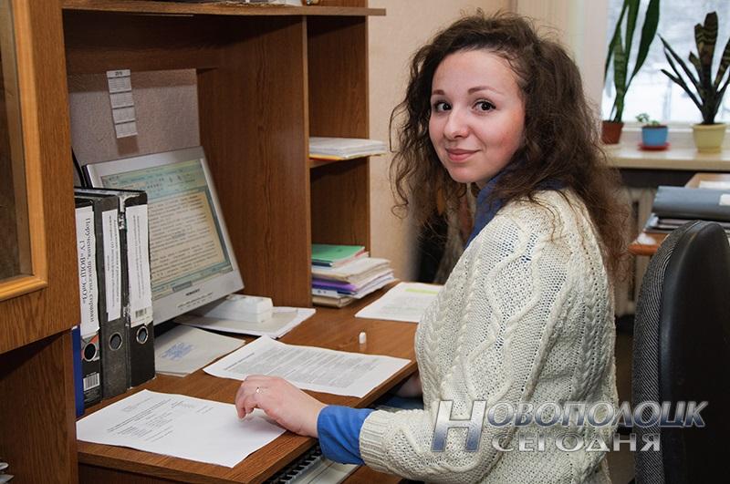 Молодой специалист, помощник врача-эпидемиолога Жолнерович Анна Антоновна