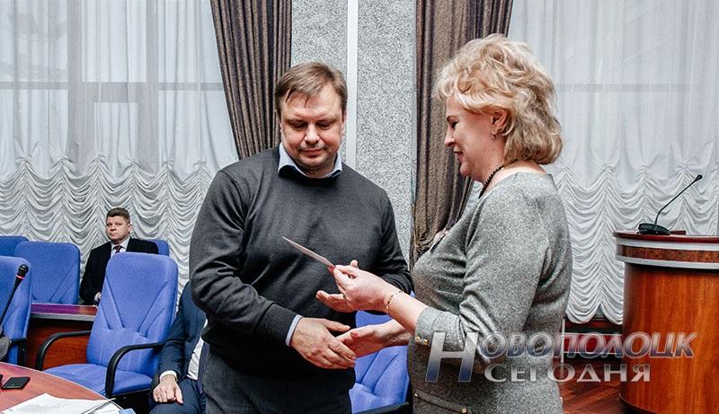 vruchenie mandatov deputatam Novopolockogo gorsoveta deputatov 28 sozyva (2)
