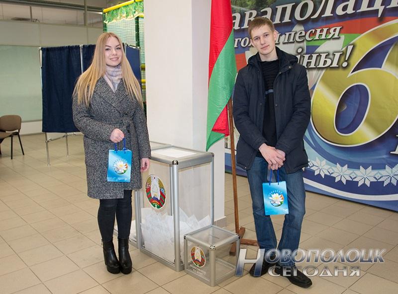 vybory v mestnye Sovety deputatov golosovanie Novopolock (4)