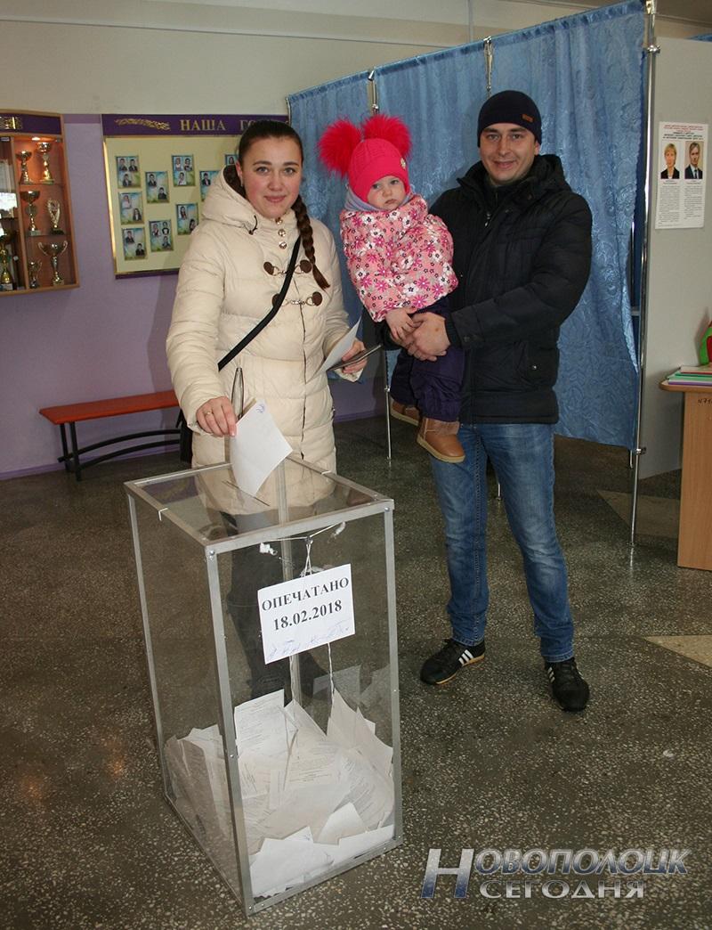 vybory v mestnye Sovety deputatov golosovanie Novopolock (9)