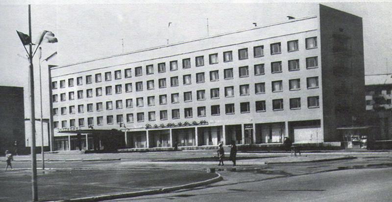 Гостиница Беларусь 1969 год