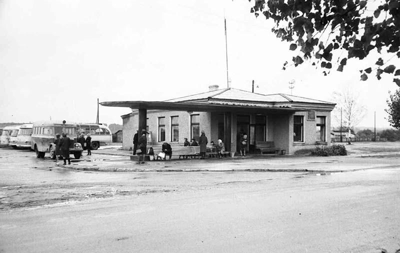 КП 2204-54 Автостанция 1959г 2