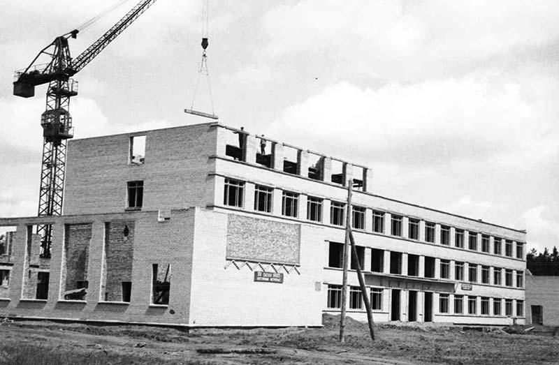 КП 2204-92 Строительство техникума 1960г