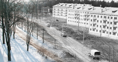 Это было недавно…Фотопроект к 60-летию Новополоцка. Улица Ктаторова