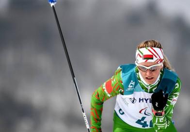 Новополочанка Светлана Сахоненко завоевала третью золотую медаль на Паралимпиаде в Пхенчхане