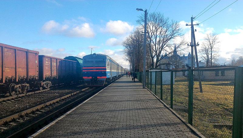 Станция Бигосово