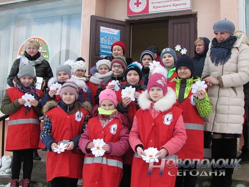 akcija belaja romashka v Novopolocke (1)