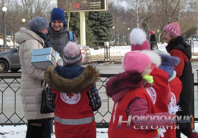 akcija belaja romashka v Novopolocke (2)